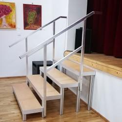 Schody 4-stupňové pevné