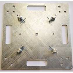 Base plate 500x500x8mm whithout galvanizing