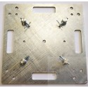 Base plate 500x500x8mm whithout galvanizing