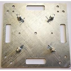 Base plate 500x500x8mm pozinkovaná