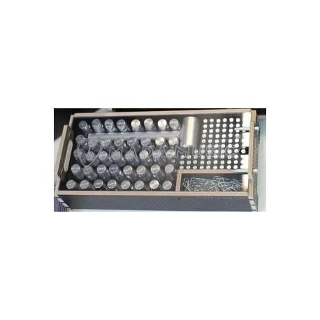 Box na spojovací materiál FT34 s plexi krytom