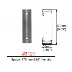 3121 Spacer female FT31-HT44