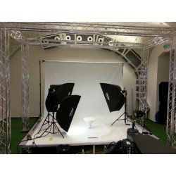 Stage for photographic turn-table