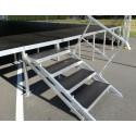 Adjustable 4-step Folding Stairs