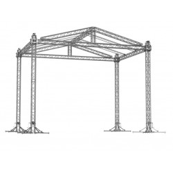 GABLE ROOF 10x8x6,1m