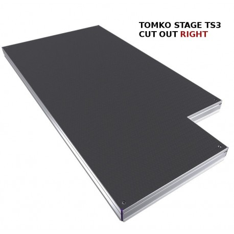 Stage TS3 2x1m cut out right