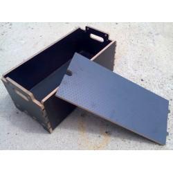 Box hlboký na materiál