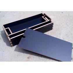 Box plytký na materiál